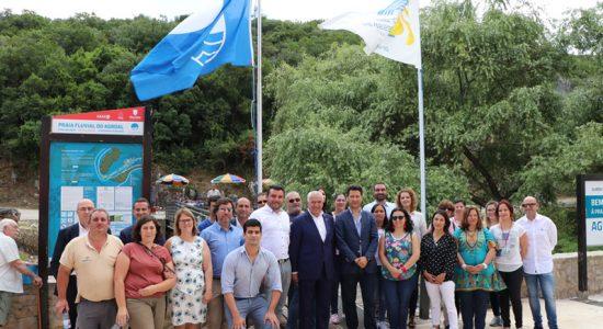 Bandeira Azul está de volta à Praia Fluvial do Agroal