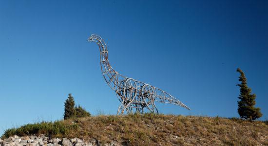 Projeto para o Monumento das Pegadas de Dinossáurios
