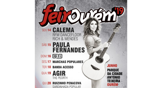 Paula Fernandes, Agir e Calema na Feirourém 2019