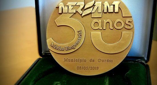Município distinguido com Medalha de Mérito Empresarial pela NERSANT