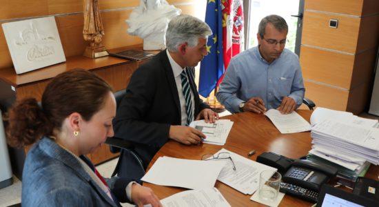 Protocolo assinado no âmbito da utilização do Edifício dos Monfortinos