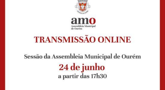Transmissão em Direto da sessão da Assembleia Municipal de Ourém – 24 de Junho