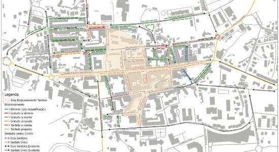 Alterações ao Sentido de Trânsito na Cidade de Ourém