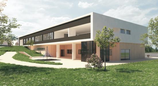 Construção do Centro Escolar da Carvoeira avança em outubro