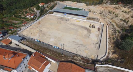 Câmara apoia requalificação do campo do Clube Desportivo Vilarense
