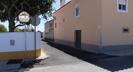 Câmara concretiza alargamento do Beco da Portela em Alburitel