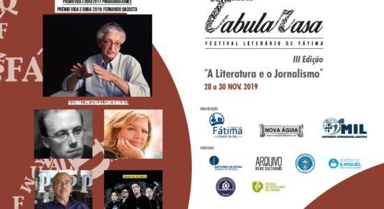Câmara Municipal apoia organização do Festival Literário de Fátima