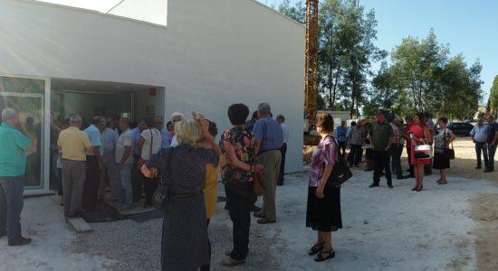 Município aprova apoio para arranjos exteriores na Casa Mortuária de Olival