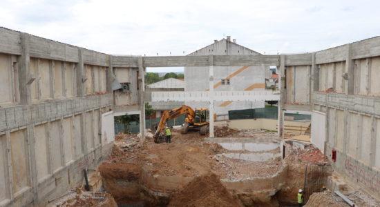 Remodelação do Cineteatro de Ourém prossegue em bom ritmo