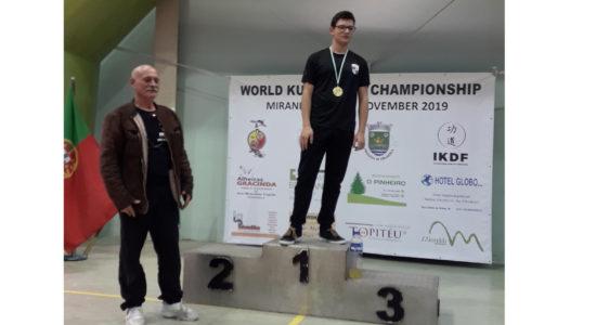 Ourém tem Campeão do Mundo de Kung Do Te