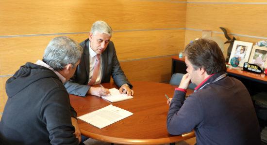 Assinado auto de consignação para execução do Centro de Documentação Joaquim Ribeiro