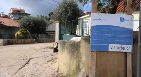Ampliação da rede abastecimento de água em Fontainhas da Serra