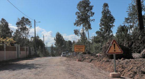 Estradas requalificadas na União de Freguesias de Matas e Cercal
