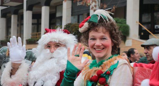 Ourém recebeu o Pai Natal de braços abertos!