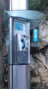 Telefone Público no Agroal