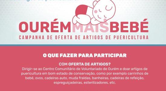 "Município lança projeto ""Ourém Mais Bebé"""