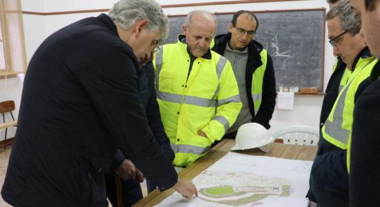 Visita do Executivo às obras públicas: todas as empreitadas ao detalhe