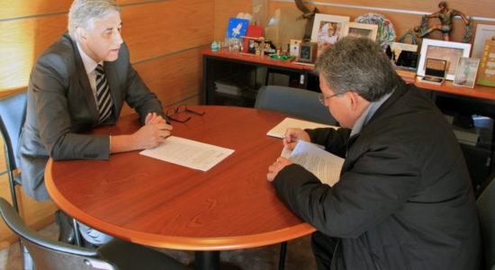 Município firmou protocolo para utilização e remodelação do Centro Paroquial de Ourém