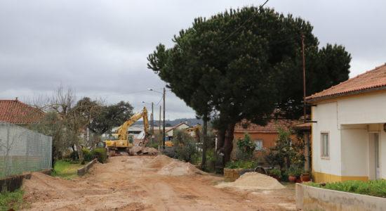 Drenagem de águas em Casa Velha, Eira da Pedra e Fátima-sede