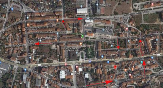 Alterações ao sentido do trânsito na cidade de Ourém