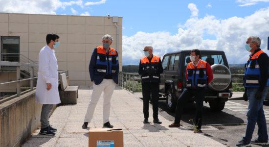 Município de Ourém distribui equipamentos de proteção a IPSS e Lares do Concelho