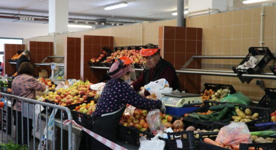 Mercado Municipal reaberto de acordo com as normas de segurança