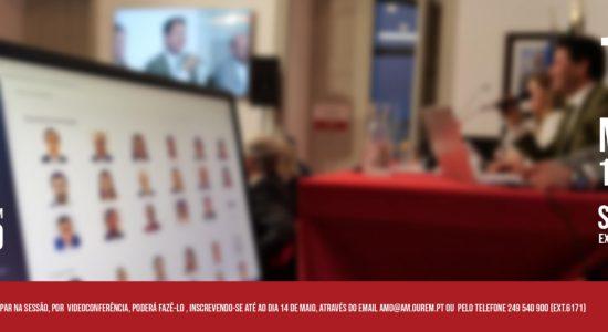 Transmissão em Direto da Reunião Extraordinária da Assembleia Municipal de Ourém