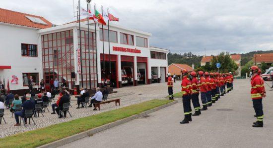 Bombeiros de Freixianda apresentaram requalificação do seu Quartel