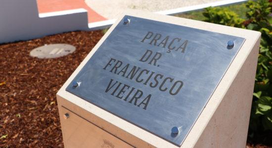 Memória de Francisco Vieira eternizada em Praça de Ourém