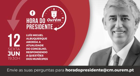 Hora do Presidente estreia dia 12 nas redes sociais do Município