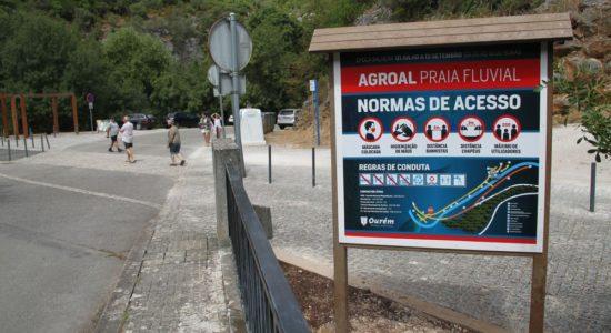 Já abriu a época balnear na Praia Fluvial do Agroal