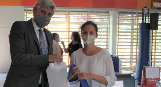 Município oferece mais equipamentos de proteção às instituições sociais