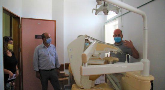 Apoio à instalação de consultório dentista no Centro de Saúde de Ourém