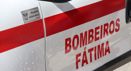 Bombeiros de Fátima apresentaram 7 novas ambulâncias