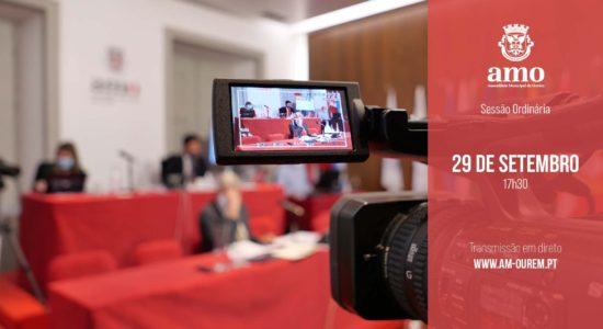 Transmissão em Direto da Reunião Ordinária da Assembleia Municipal de Ourém – 29 de setembro
