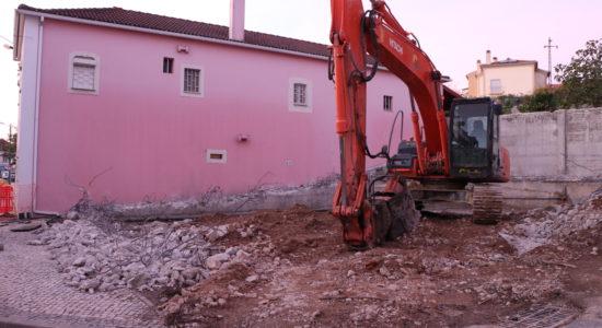 Edificado problemático em Caxarias já foi demolido