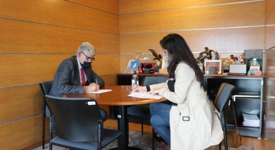 Município assina protocolo de cooperação com AR Bernardense