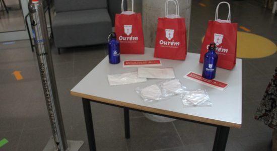 Município de Ourém e Be Water desenvolvem campanha de prevenção da Covid-19 nas escolas do concelho
