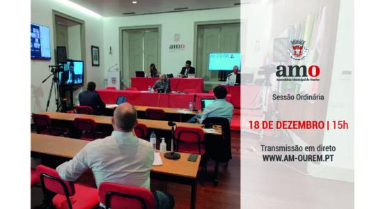Reunião Ordinária da Assembleia Municipal de Ourém – 18 de dezembro