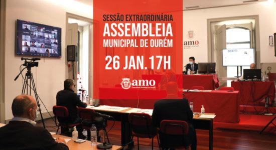 Assembleia Municipal extraordinária – 26 de janeiro