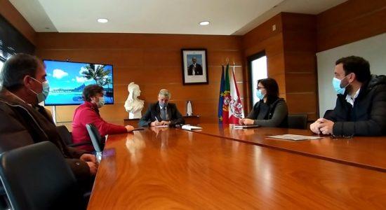 Auto de consignação – Requalificação Rede Viária Rio Couros e C. Bernardos