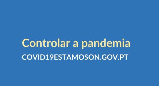"""""""Controlar a Pandemia"""" – medidas em vigor a partir de 15 de janeiro"""