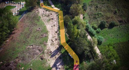AVISO – Troço do Parque António Teixeira Encerrado ao Público