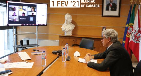 Reunião da Câmara Municipal de Ourém – 1 de fevereiro