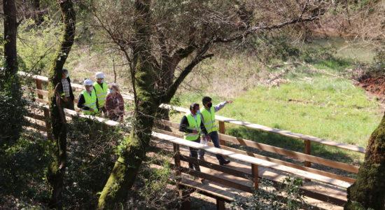AGROAL | Construção do Passadiço avança em bom ritmo