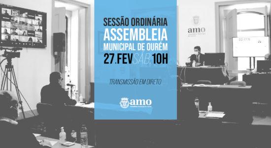 Assembleia Municipal Ordinária de 27 de fevereiro de 2021
