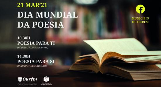 Ourém celebra o Dia Mundial da Poesia