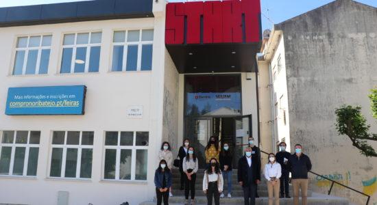 Finalistas da Escola de Hotelaria de Fátima estagiam na Câmara Municipal de Ourém