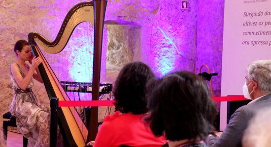 Angélica Salvi em concerto inédito no Paço dos Condes